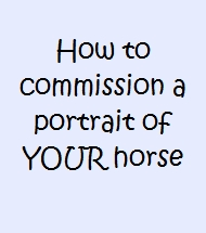 how to commission a pet portrait