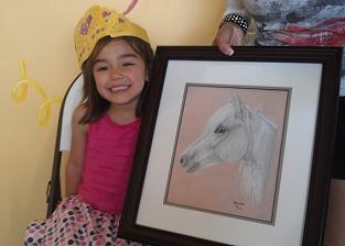 pony portrait owner