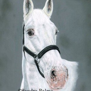 Grey Mare painting